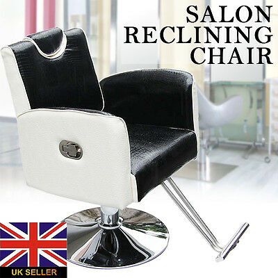Fashing Hydraulic Barber Reclining Salon Chair Hairdressing Beauty Furniture UK