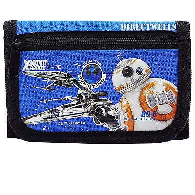 Disney Star Wars Robot Blue Wallet
