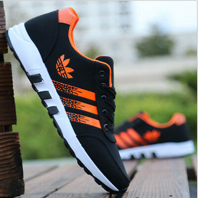 New Fashion Men's Running Breathable Shoes Sports Casual Trainers Sneakers Shoes