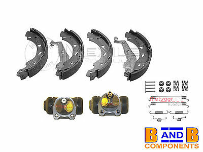 Smart 450 42 Cabrio Roadster Brake Shoe Set Wheel Cylinder & Fitting Kit A1109