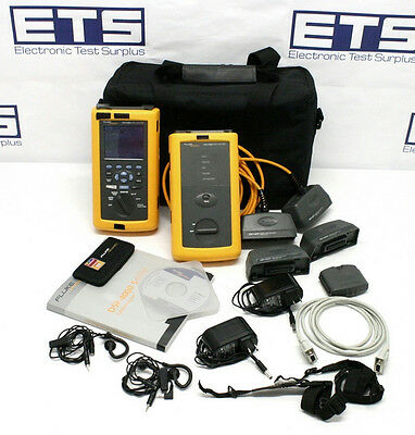Fluke Networks DSP-4300 Cable Analyzer With Remote