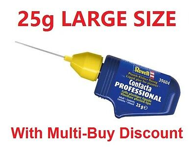 Model Glue Revell 39604 Contacta Professional 25g NEEDLE GLUE POLY CEMENT AIRFIX