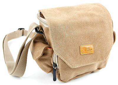 Medium Sized Canvas Carry Bag For the Aoneky Compact Mini Rubber Kids Binoculars
