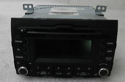 2012 Kia Sportage Genuine Oem Cd Radio Stereo Head Unit 96160-3U230Wk