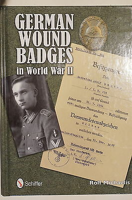 WW2 German Wound Badges in World War II Reference Book