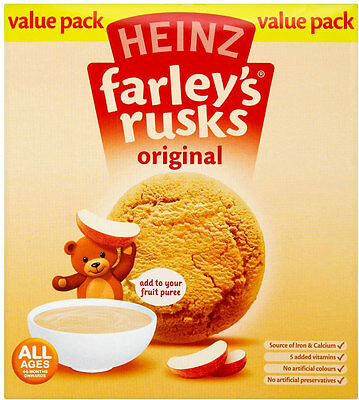 Heinz Original Farleys Rusks 4 Months 300G