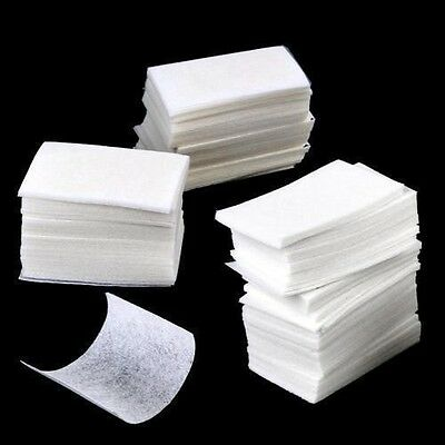 Nail Remover Wipes Polish Gel Cleaner Manicure Lint Free Cotton Pads Paper Art