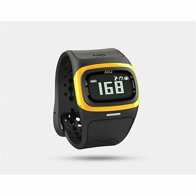 Mio Alpha 2 Heart Rate Watch in Yellow Longer Strap