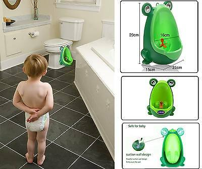 Frog Children Potty Toilet Training Kids Urinal for Boys Funny Aiming Target New