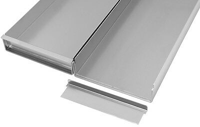 Commercial Quality Aluminium Baking Tray with Removable Side 60 x 20 x 5 cm
