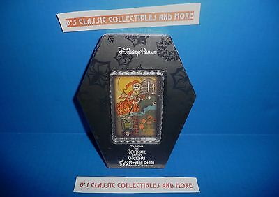 Disney Parks Nightmare Before Christmas Playing Card Set - Coffin Packaging New!