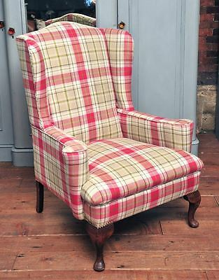 Stunning Reupholstered Georgian Style Armchair