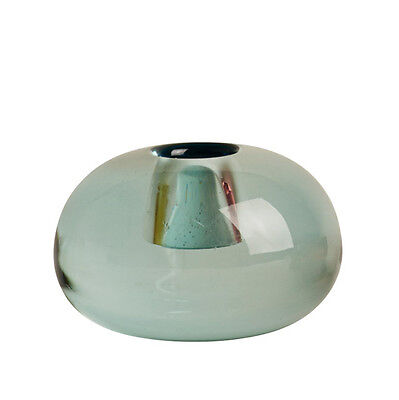 OYOY Nordic Glass Candle Holder Icy Blue