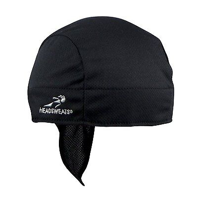 Headsweats Shorty Black Eventure Cycling Bicycle Hat Beanie Helmet Liner
