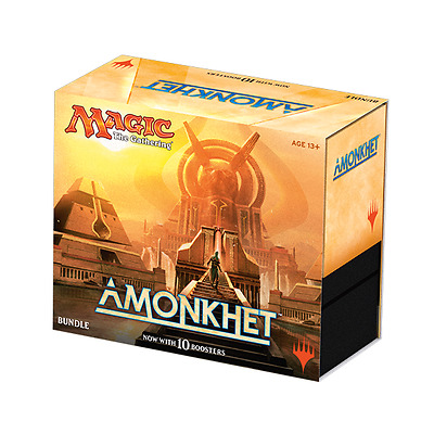 Amonkhet Bundle (Fat Pack) - Magic the Gathering - Sealed Brand New! 10 Boosters