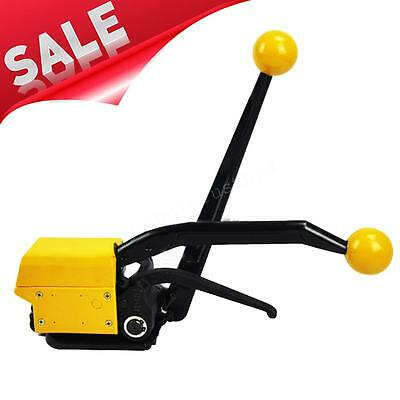 """A333 Manual Sealless Steel Strapping Tools Strap Width 1/2""""-3/4"""" Adjustable"""