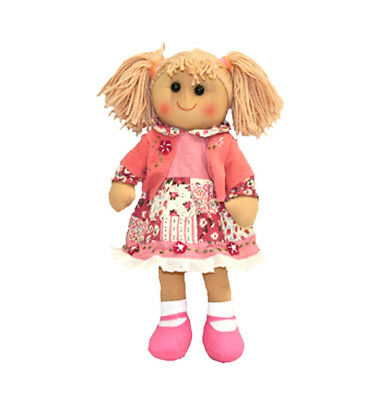 """Rag Doll KATIE by Hopscotch Collectibles ragdoll soft toy 14""""/35cm NEW"""