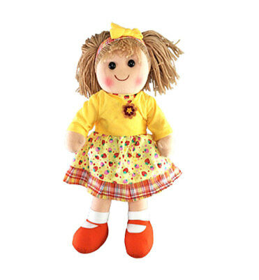 "Rag Doll PRIMROSE by Hopscotch Collectibles ragdoll soft toy 14""/35cm NEW"