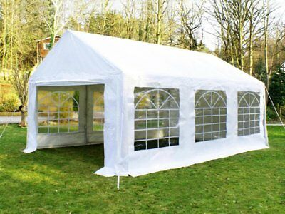 Great White Marquee 3m x 6m Heavy Duty PVC Wedding Party Tent Event Gazebo NEW