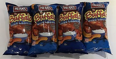 903593 4 x 198.5g BAGS OF HERR'S BUFFALO BLUE CHEESE FLAVORED CHEESE CURLS - USA