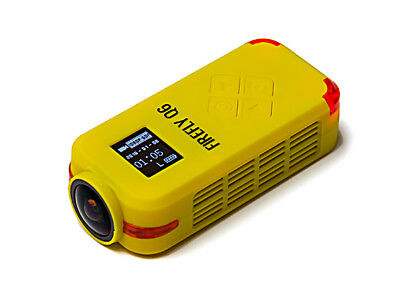 RC Hawkeye Firefly Q6 4K FPV Sport DV Action Camera (Yellow)