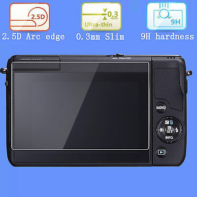 9H Hard Tempered Glass Screen protector Film cover for Canon Eos M10 DSLR Camera