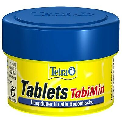 Tetra Tabimin 120 tablets tabs for bottom feeding fish catfish and plecostomus
