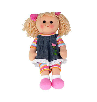 "Rag Doll LEXI by Hopscotch Collectibles ragdoll soft toy doll 14""/35cm NEW"