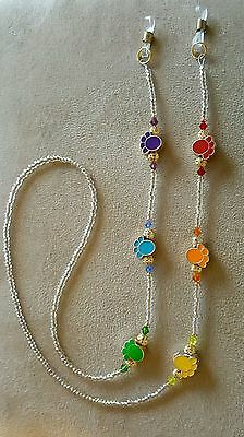 Paws, Paws and Paws Dog or Cat Lover Eyeglass Chain Holder