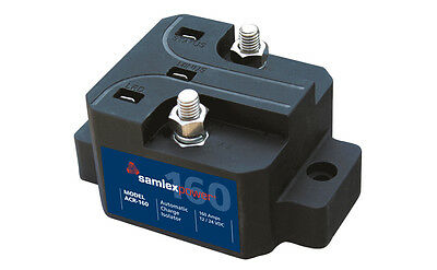 Samlex ACR-160 Automatic Battery Charge Isolator 160 Amps 12/24 V Microprocessor