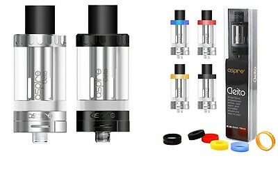 Genuine Aspire Cleito Glass Sub ohm Tank 3.5 ml Top Filling with Scratch Code