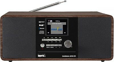 Imperial  Dabman i200 Internet-DAB+ Radio mit CD-Player Stereo UKW WLAN