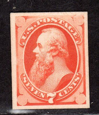 $US Sc#160p4 M/H/VF, plate proof on card, Cv. $20