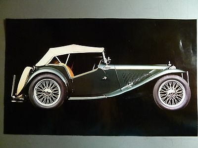 1948 MG TC Roadster Print, Picture, Poster RARE!! Awesome L@@K
