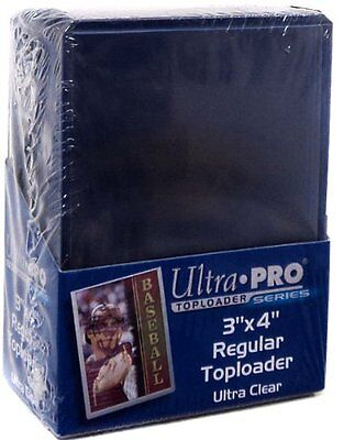 Ultra Pro Toploaders 3x4 Clear Regular ct25 Card Game - SAME DAY DISPATCH