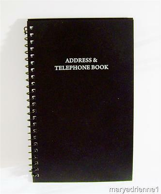 NEW A - Z  Tabbed Address - Telephone - Email Book ~Spiral Bound~ ON SALE