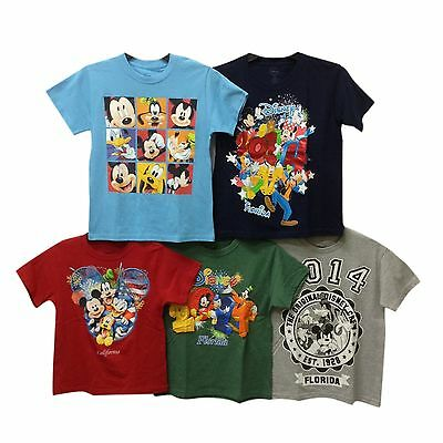 Authentic Wholesale Lot Kids 24 Pcs T-Shirt Disney Mickey Pluto Goofy Duck