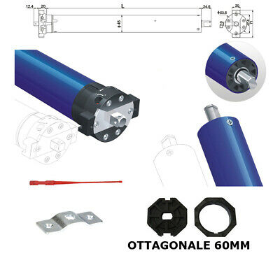 Motore Per Tapparella Tapparelle 100 Kg 50Nm Nice Faac Came Bft Somfy 230