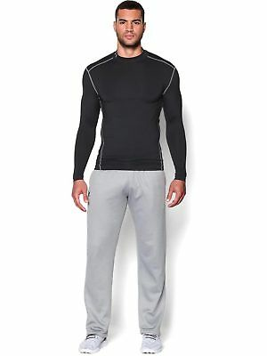 Under Armour Mens Base Layer Coldgear Armour Compression Mock Black New Sports