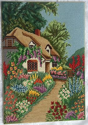 Anne Hathaway's Cottage (?) Needlework - (644)