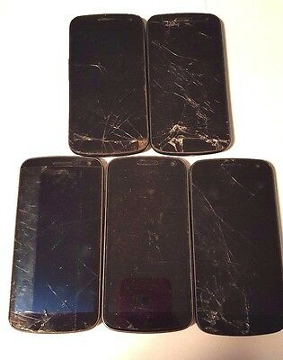 5 Lot Samsung Galaxy Nexus L700 i9250 i515 Locked For Parts Used Wholesale As Is
