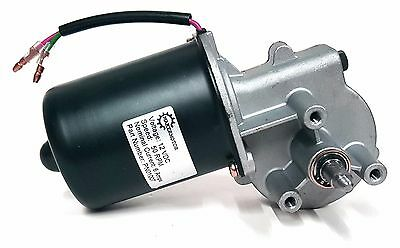 Reversible Electric Gear Motor 12v 50 RPM Gearmotor DC