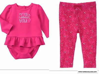 New Gymboree Woodland Im Nuts About You  Girls Outfit Nwt  18-24 Mths