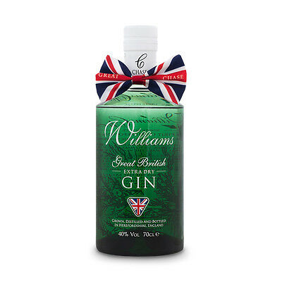 Williams Chase Extra Dry Gin, England 0,7 L 0,70L Neu