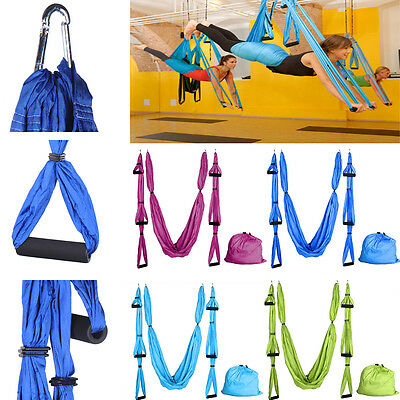 Anti-Gravity Yoga-Swing Hanging Hammock Decompression Inversion Therapy Aerial