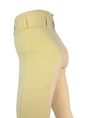 Ladies Cream Breeches, Womens Banana Breeches, Full Seat Suede. Sizes 8-18 2nds