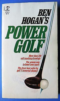 Ben Hogan's  - Power Golf  Pocket books 1953