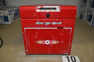 TDR Disc-Go-Devil Disc Repair & Cleaning Machine Red (Untested)