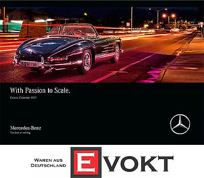 Mercedes-Benz Classic Calendar 2017 With Passion To Scale B67950062 Genuine New