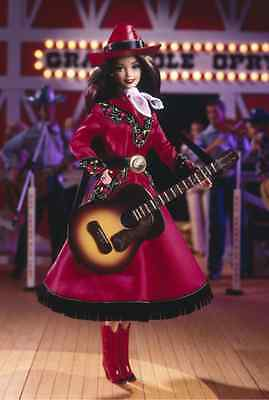 Grand Ole Opry Country Rose Barbie  Mattel 17782